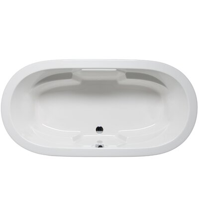 Hermosa 72 x 36 Air/Whirlpool Bathtub Color: White