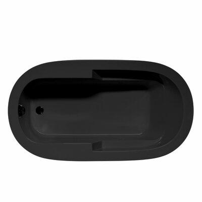 Marco 66 x 36 Soaking Bathtub Color: Black