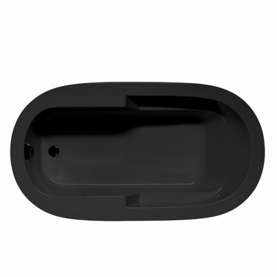 Marco 66 x 36 Air/Whirlpool Bathtub Color: Black