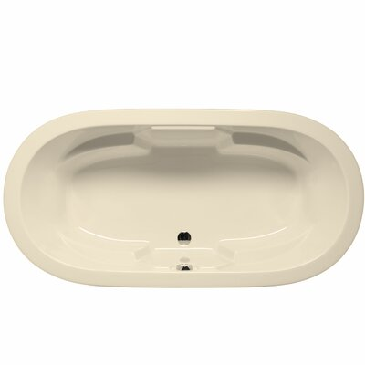 Hermosa 72 x 36 Whirlpool Color: Biscuit