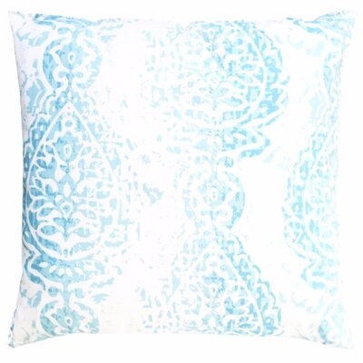 Nautical Brocade Cotton Throw Pillow Size: 24 H x 24 W x 4 D