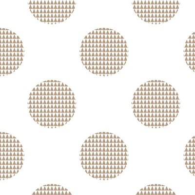 Dot Fabric Color: Light Brown