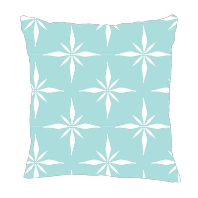 Nautical Compass Throw Pillow Color: Light Blue, Size: 16 H x 16 W x 5 D