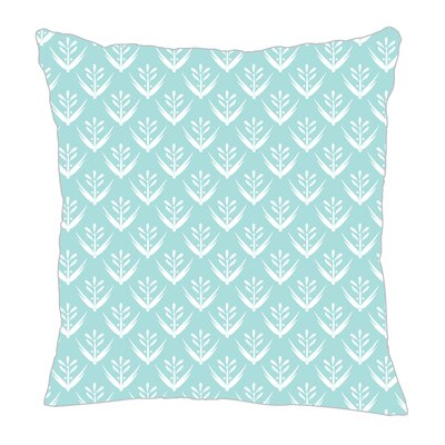 Wild Meadow Throw Pillow Size: 18 H x 18 W x 5 D, Color: Light Blue