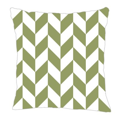 Zig Throw Pillow Size: 16 H x 16 W x 5 D, Color: Sage