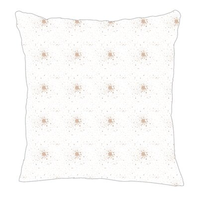 Star Burst Throw Pillow Color: Light Brown, Size: 16 H x 16 W x 5 D