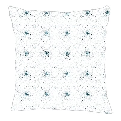 Star Burst Throw Pillow Color: Teal, Size: 20 H x 20 W x 5 D