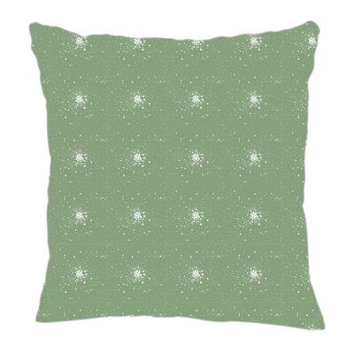 Star Burst Throw Pillow Size: 18 H x 18 W x 5 D, Color: Seamist