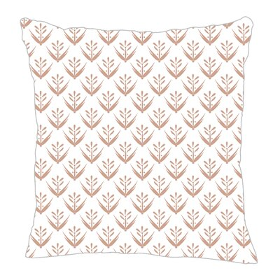 Wild Meadow Throw Pillow Size: 18 H x 18 W x 5 D, Color: Light Brown
