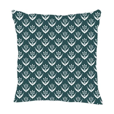Wild Meadow Throw Pillow Size: 16 H x 16 W x 5 D, Color: Teal
