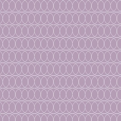 Spiral Graph Fabric Color: Lilac