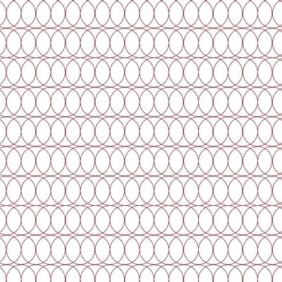 Spiral Graph Fabric Color: Maroon