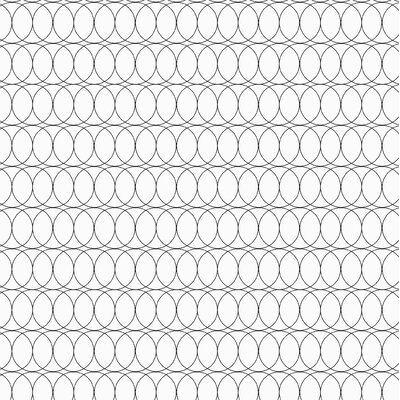 Spiral Graph Fabric Color: Black
