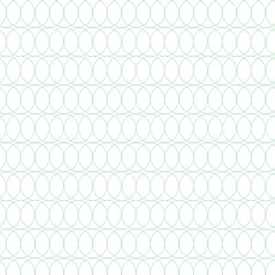 Spiral Graph Fabric Color: Mint