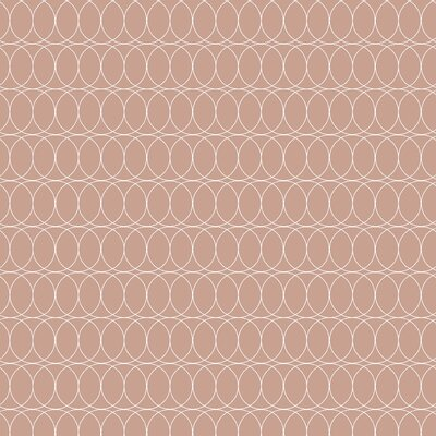 Spiral Graph Fabric Color: Beige