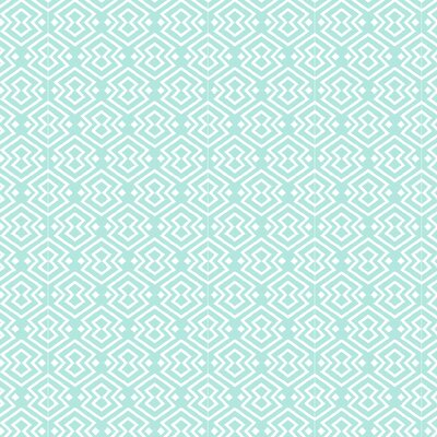 Aztec Fabric Color: Light Blue