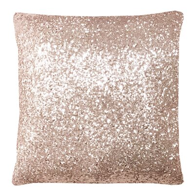 Glitz Blush Throw Pillow Size: 24 H x 24 W