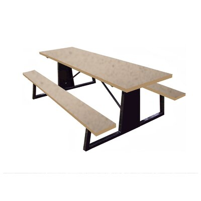 Picnic Table Finish: Sandstone