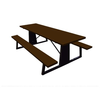 Picnic Table Finish: Brown