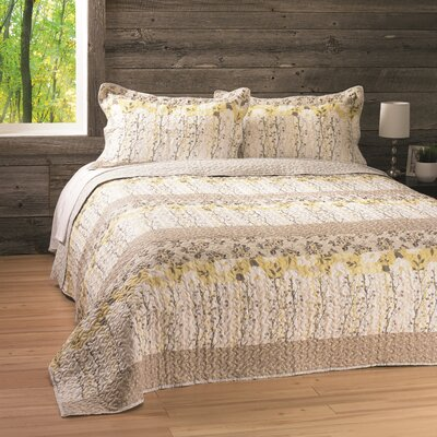 Emily Reversible Quilt Set Size: Double/Queen