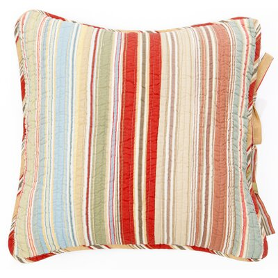 Tristan Cotton Throw Pillow