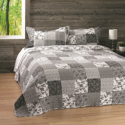 Denise Reversible Quilt Set Size: Twin