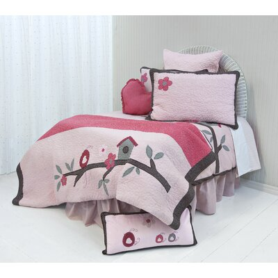 Jojo Reversible Duvet Cover Set Size: Double/Queen