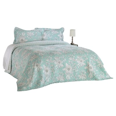 Megan 3 Piece Quilt Set Size: King