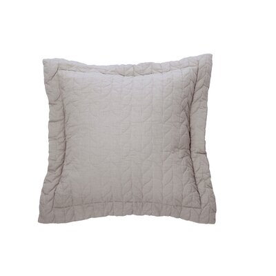 Unik Cotton Throw Pillow Color: Light Gray