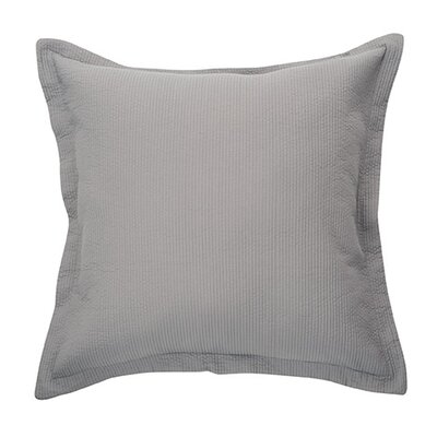 Bungalow Microfiber Throw Pillow Color: Gray