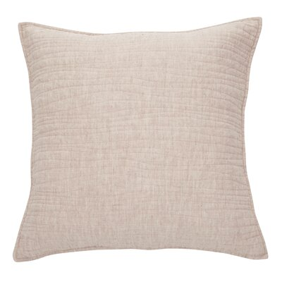 Lino Linen Throw Pillow Color: Natural