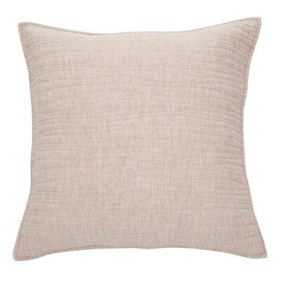 Lino Linen Throw Pillow Color: Natural