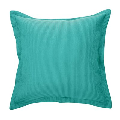 Bungalow Microfiber Throw Pillow Color: Turquoise