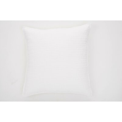 Lino Linen Throw Pillow Color: White