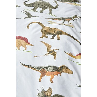 Dinosaurus Cotton Throw Pillow