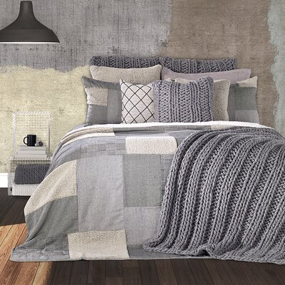 Ben 3 Piece Reversible Quilt Set