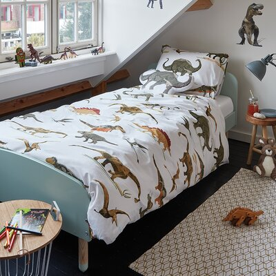 Dinosaurus Duvet Cover Set Size: Double/Queen