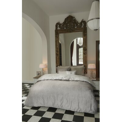 Industrial 3 Piece Duvet Cover Set Size: Twin, Color: Natural