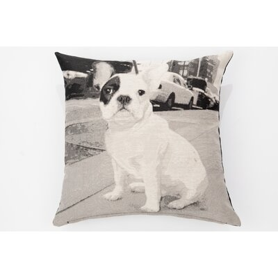 Woof Romeo Throw Pillow