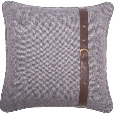 Wool Throw Pillow Color: Gray