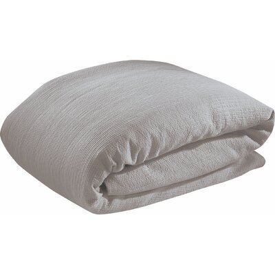 Bungalow Duvet Cover Set Size: King, Color: Gray