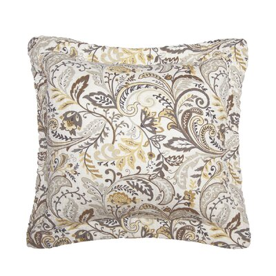 Antik Honey Cotton Throw Pillow