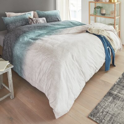 Graig 3 Piece Duvet Cover Set Size: Double/Queen