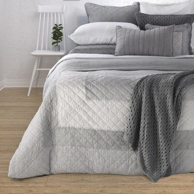 Ezra 100% Cotton Quilt Set Size: Twin