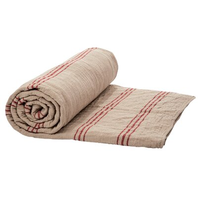 Eastampton Quilt Size: Twin, Color: Red/Cream