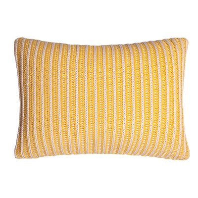 Neon 100% Cotton Throw Pillow Color: Yellow