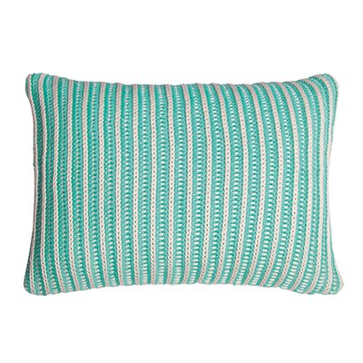 Neon 100% Cotton Throw Pillow Color: Mint