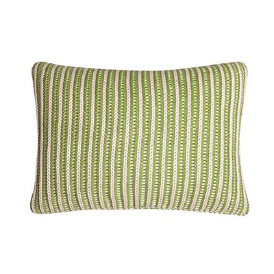 Neon 100% Cotton Throw Pillow Color: Green