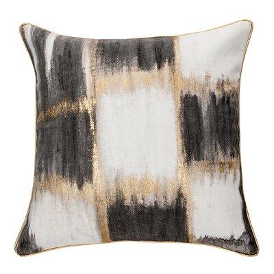 Shenelly Plaid 100% Cotton Throw Pillow