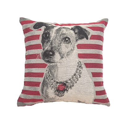 Roose Dog Throw Pillow